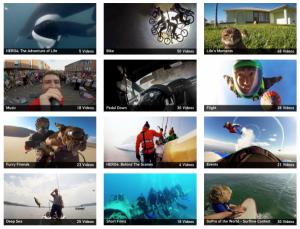 GoPro visual marketing strategy