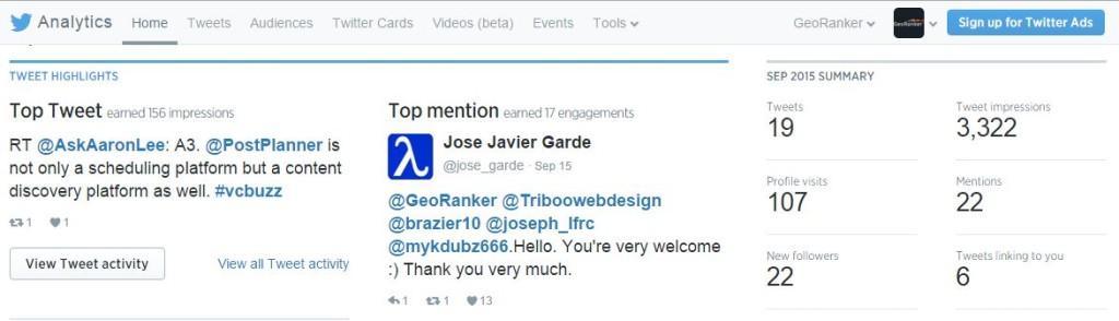 GeoRanker social media case study